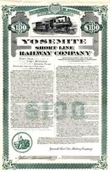 Yosemite Short Line Railway Company - California 1905