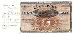 Zephyr Mining Company - Monarch Mining District, Chaffee County, Taylor Gulch , Colorado 1881