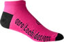 pink cycling socks