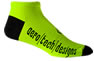 safety yellow socks
