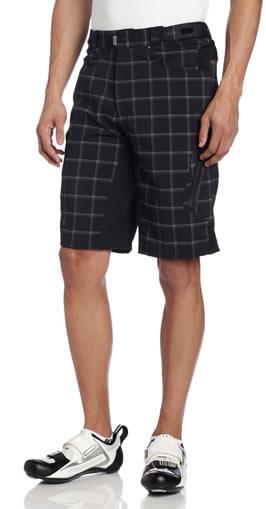 padded, baggy, mountain bike shorts