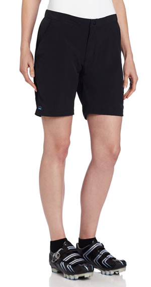 womens front mountain bike short