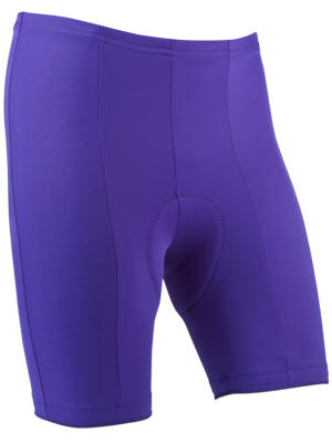 purple pro shorts