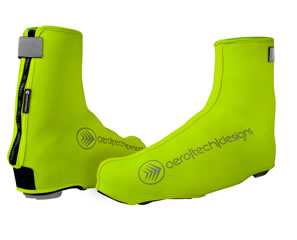 high visibility shoe cover - safety yellow