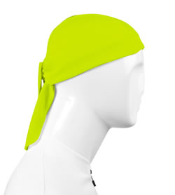 High Visibility Yellow Skull Cap