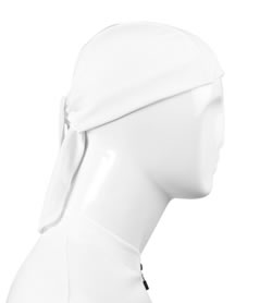 side view of sweat wicking skull cap