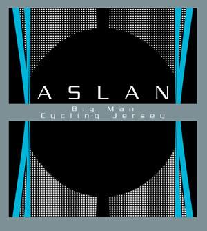 Aslan Big Man Cycling Jersey Logo