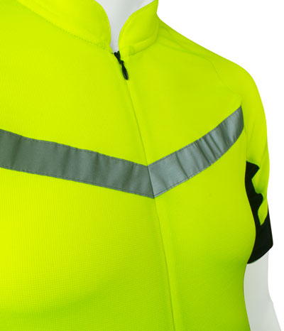 aero tech big man's cycling jersey pace front