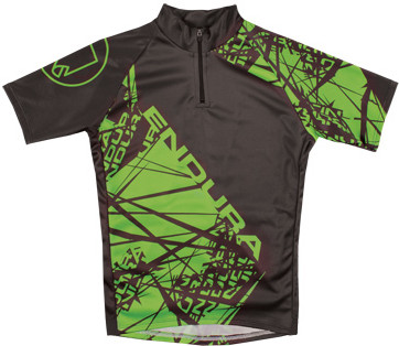 kids bicycling jersey with rear pockets from endura