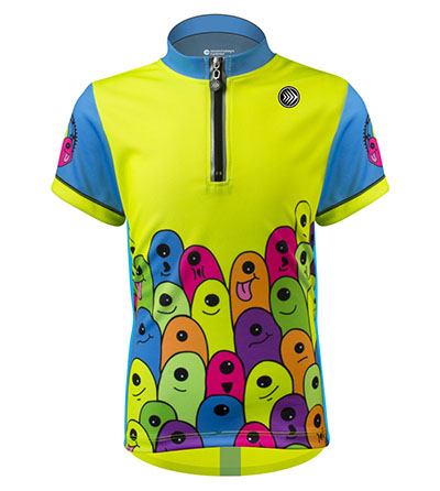 Glowworms Jersey Front