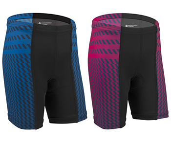Power Tread bike shorts for girls and boys