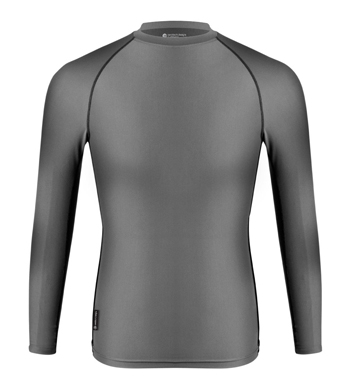 charcoal compression t shirt