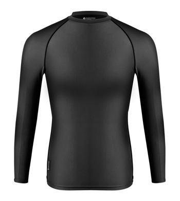 black compression shirt