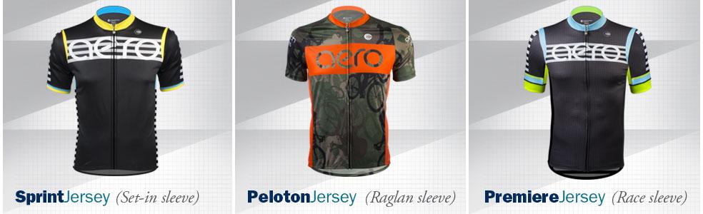 custom cycling apparel by Aero Tech Designs