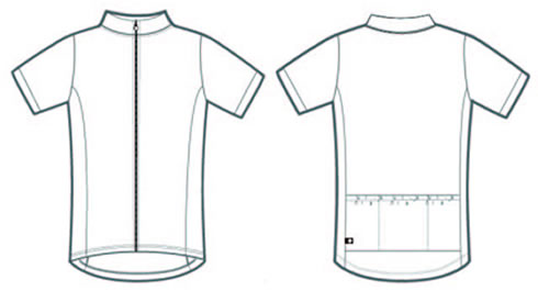 Solid Basic Bike Jersey