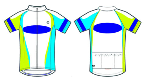 Victory custom bike jersey