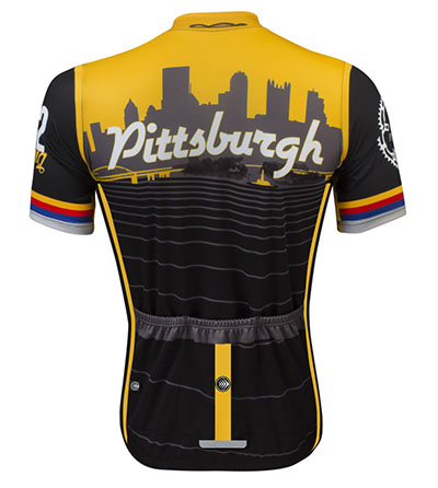 Pittsburgh Jersey Back