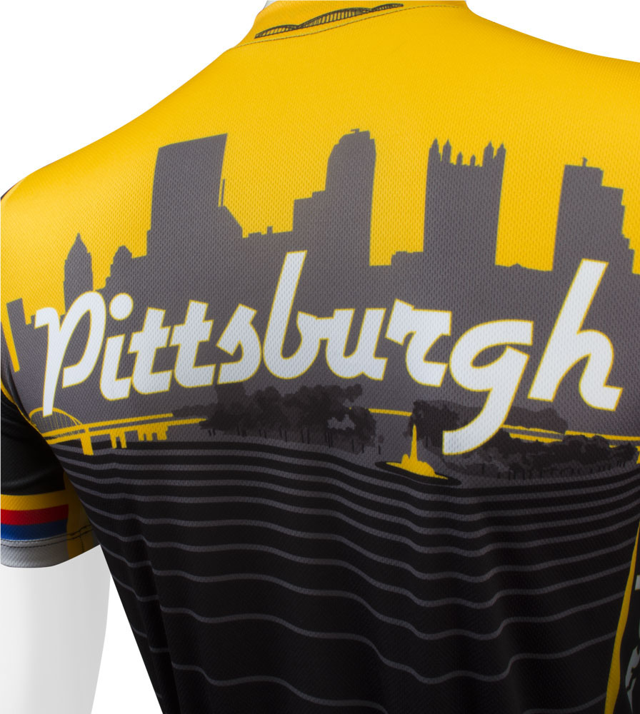 Pittsburgh Jersey Back Detail