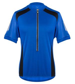 blue coolmax jersey