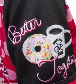 hemmed sleeves with donuts