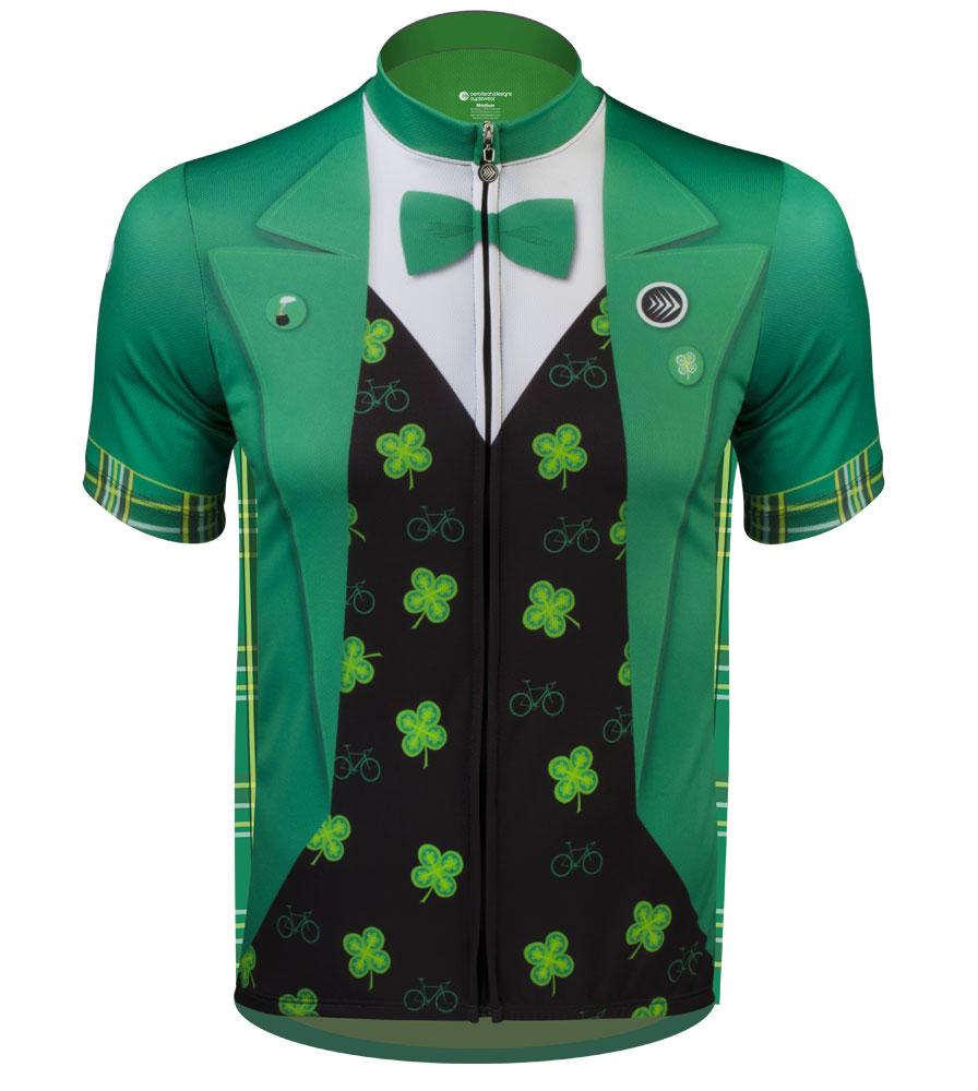 Lucky Leprechaun bike jersey from aero tech designs cycling apparel