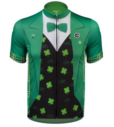 Lucky Leprechaun St. Patrick's Day Cycling Jersey