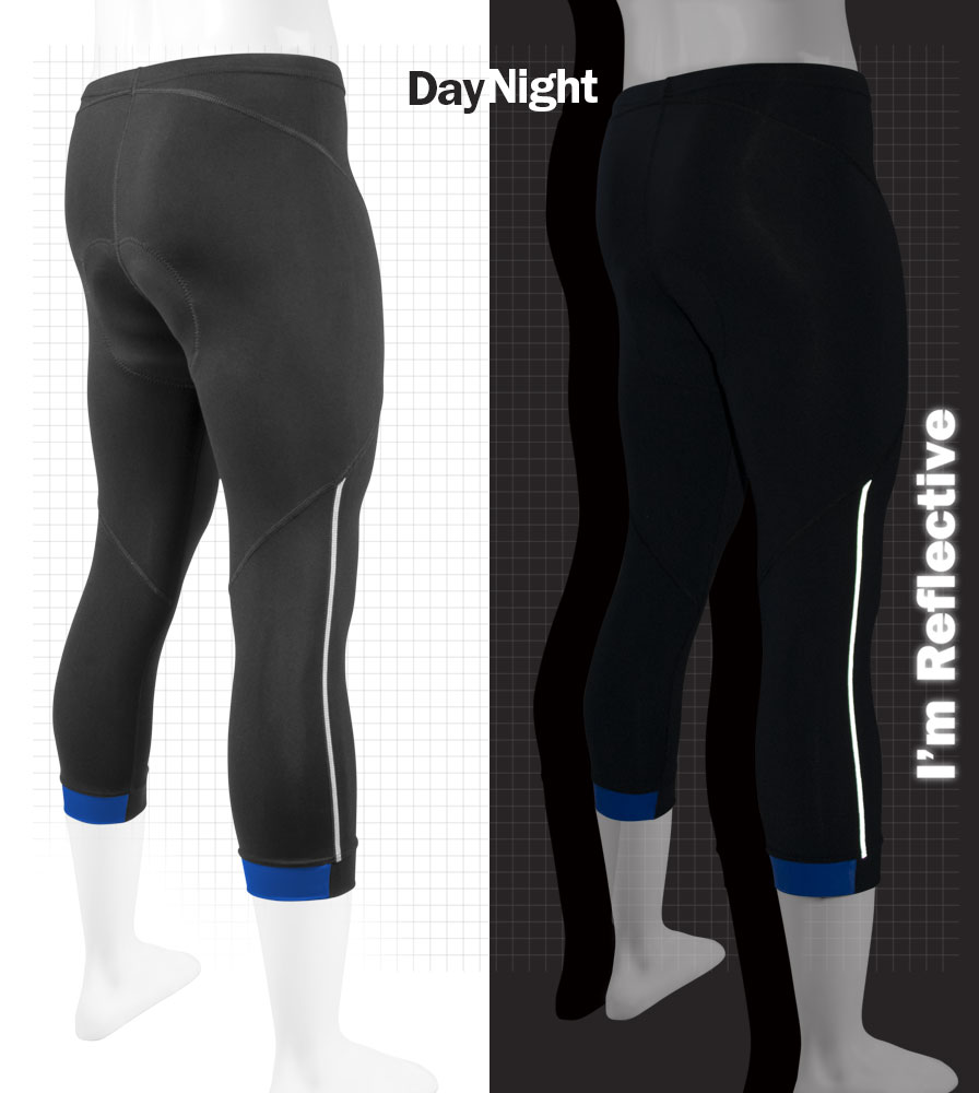reflective knickers are visible at night