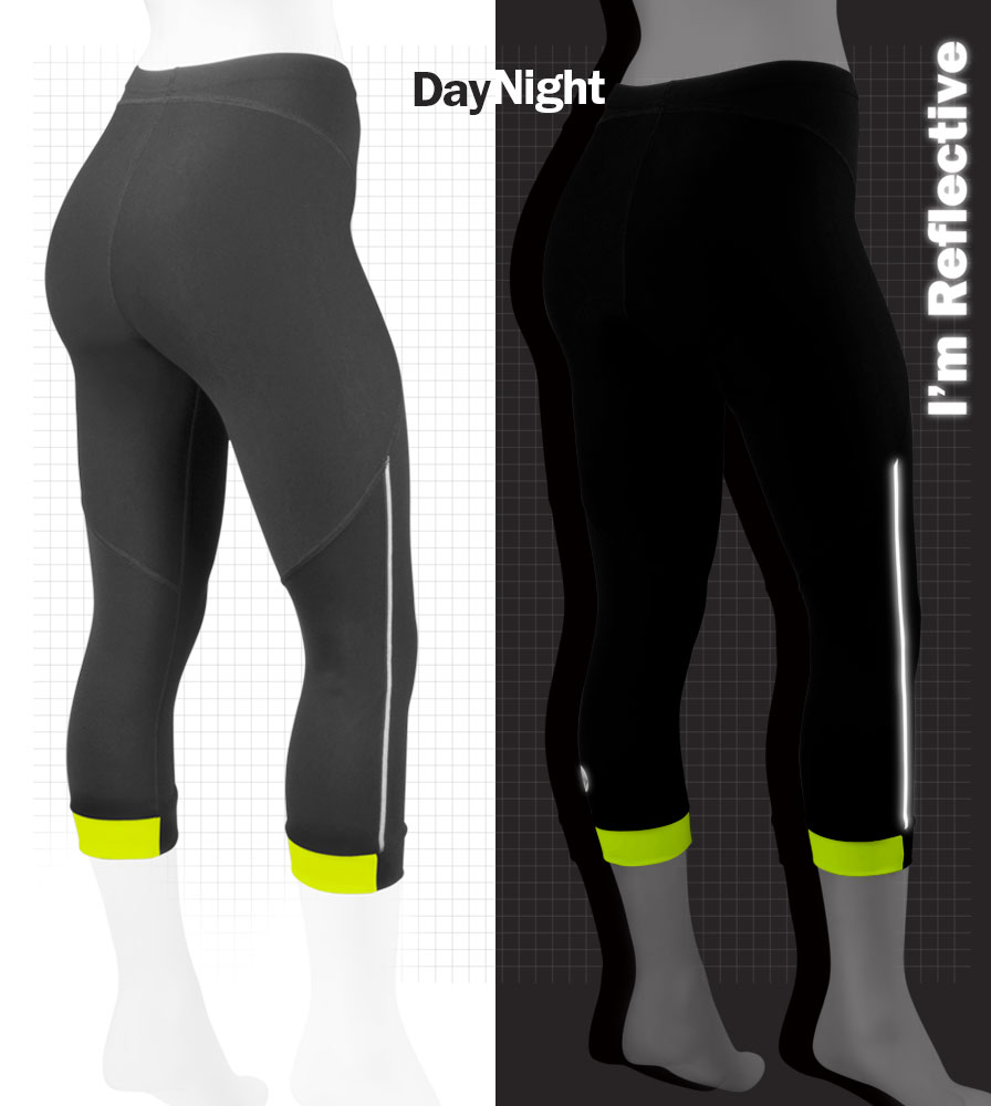 Running Capri with reflective trim