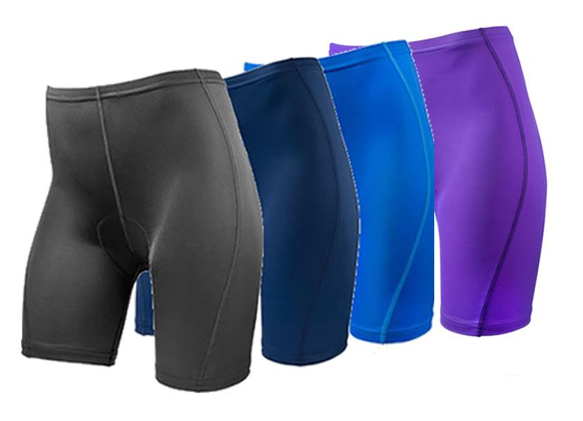 aero tech classic padded bike shorts