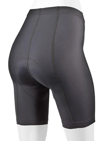 women's thick padded century shorts