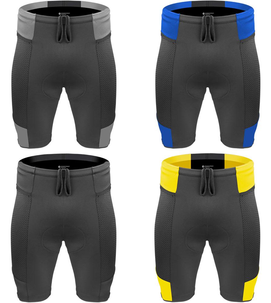 men's gel cycling shorts