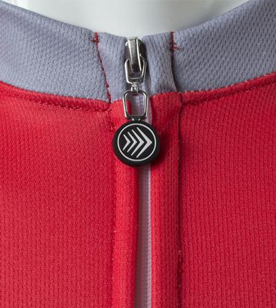 Zipper to neckline