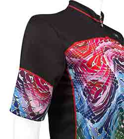 Hydra Jersey Colorful Pattern