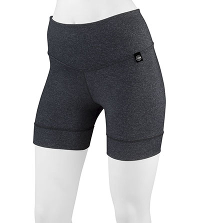 Heather Gray Compression Short