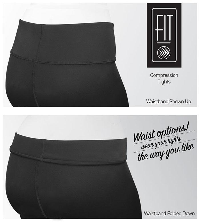 Adjustable waist makes comfort options easy