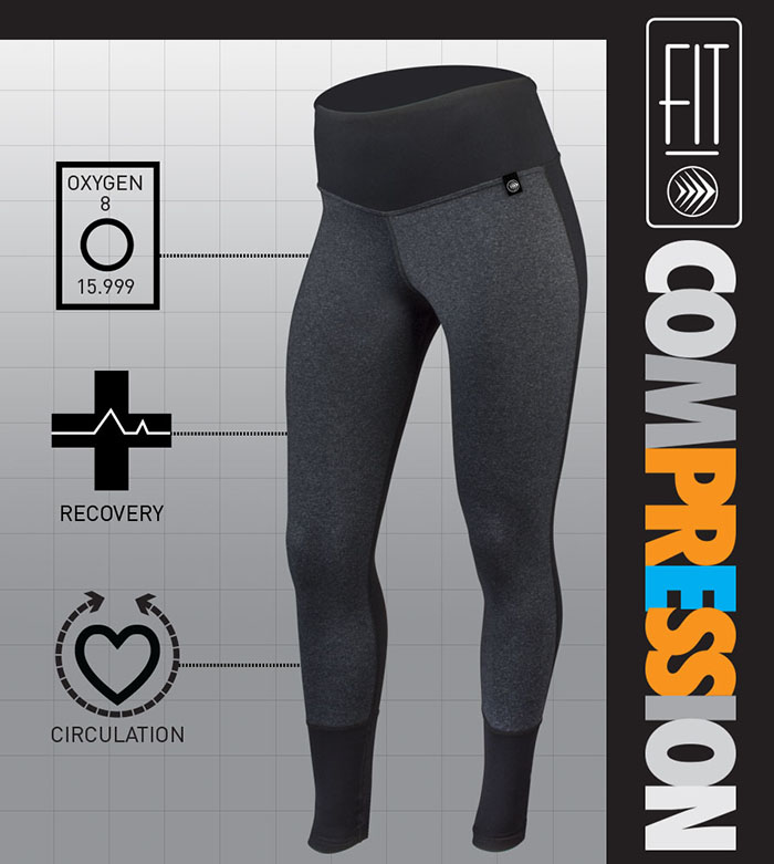 Compression offers many health benefits for fitness