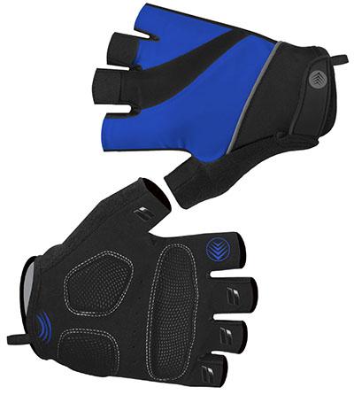 Royal Blue Bike Gloves