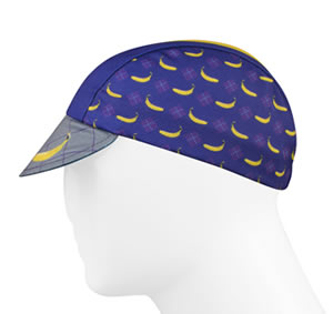 cycling cap side view