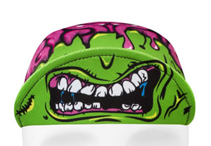 monster cycling hat