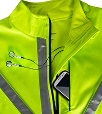 Aero Tech Bike Jacket with Media Pocket