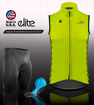 High visibility jackets and vests