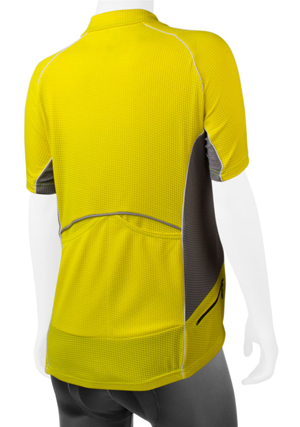 yellow polo jersey