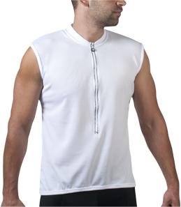 sleeveless bike jersey