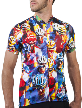Biker Dude Cycling Jersey