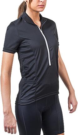 black bike jersey for women