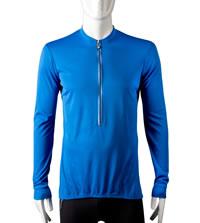 royal blue winter bike jersey