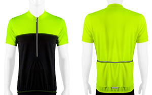 Yellow Men's Shadow Cycling Jersey