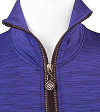 Collar Zipped Down