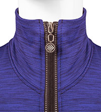 Collar Zipped Up