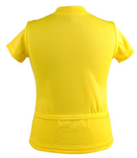 yellow youth jersey back pockets